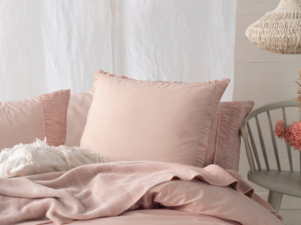 Linen House Shirin European Pillowcase - Exclusive To Snooze