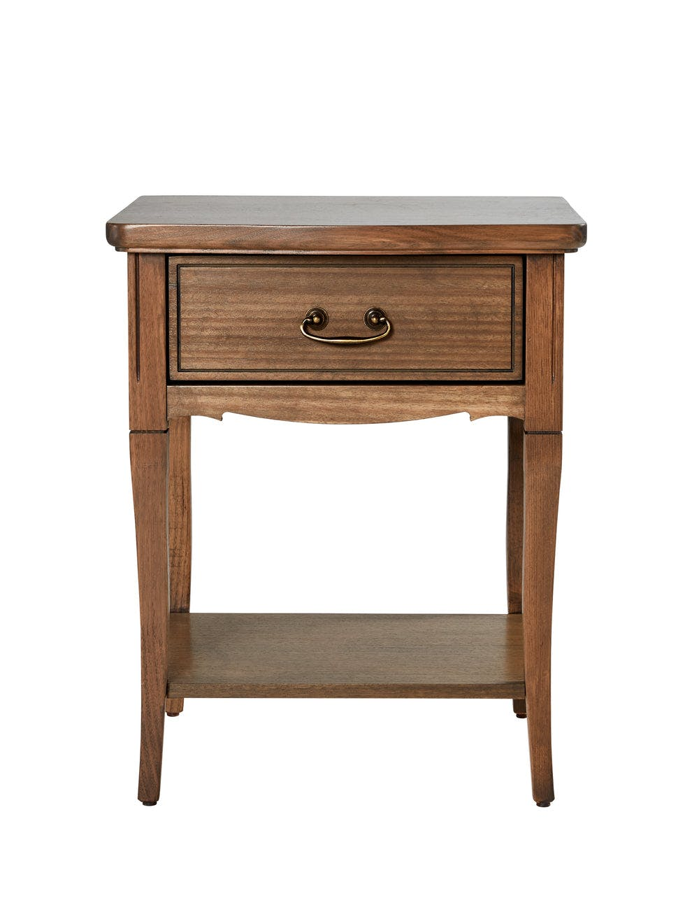 Elise Bedside Table (1 Drawer, 1 Shelf)
