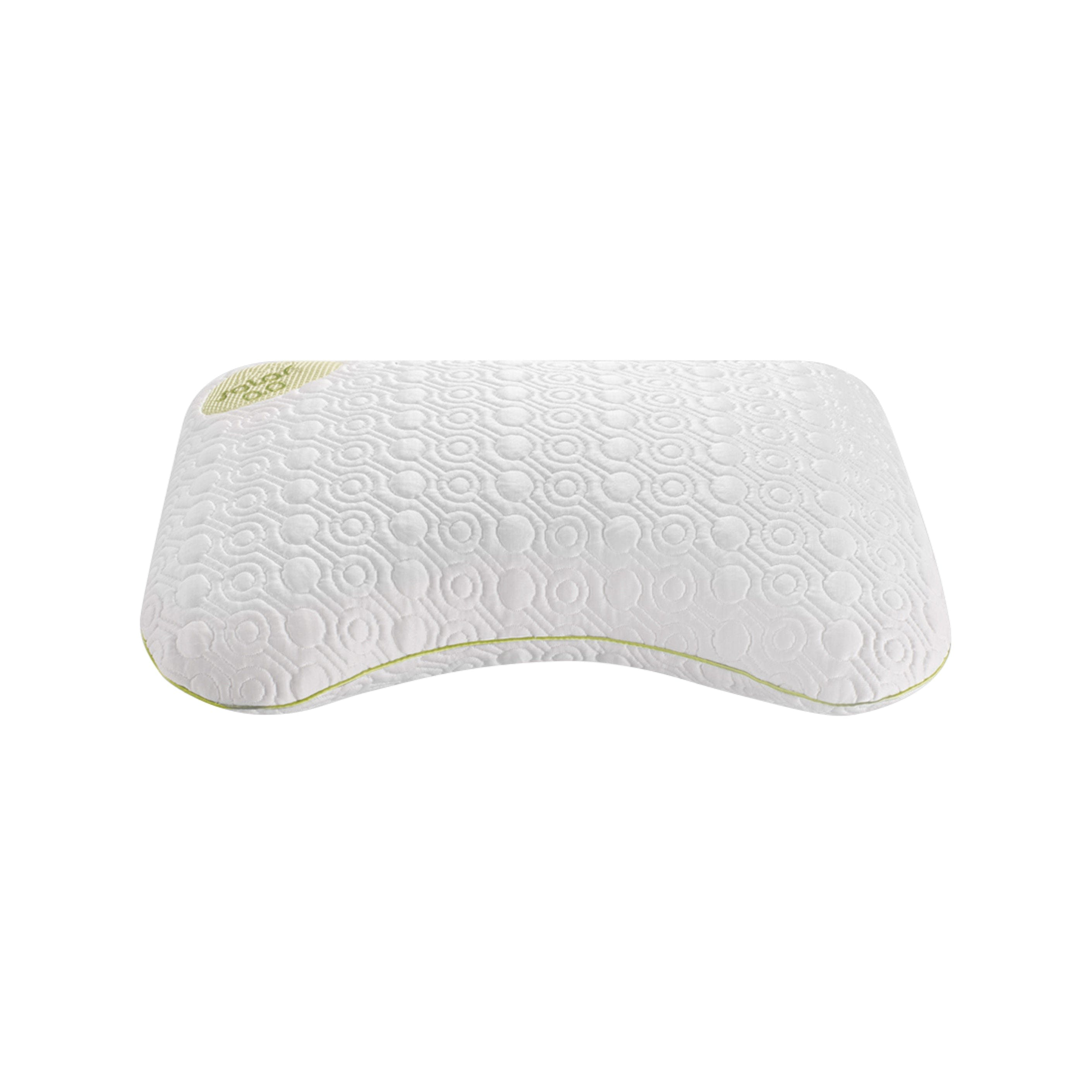 latex pin pillow nature bedgear products series performance