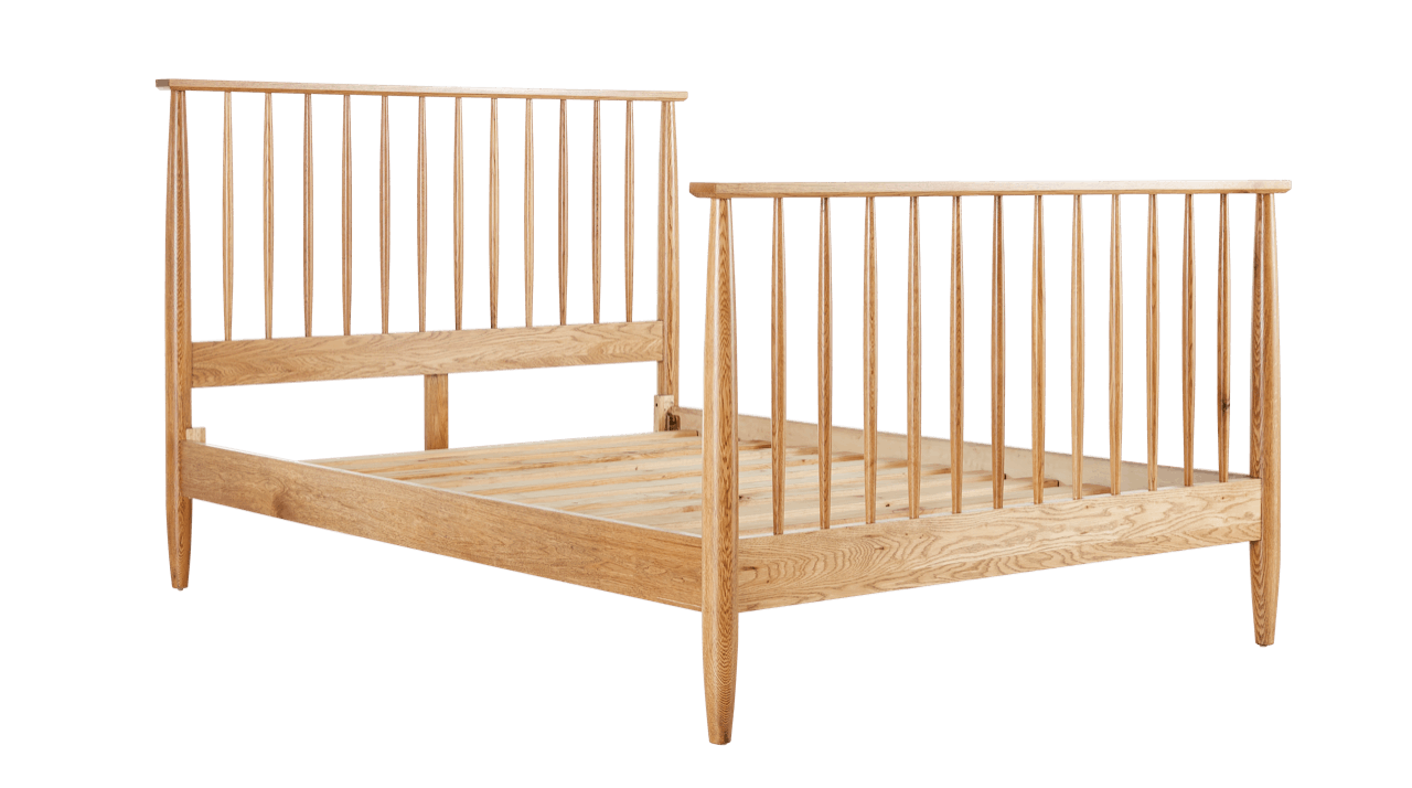 Suri Bed Frame with Matching Foot – Snooze