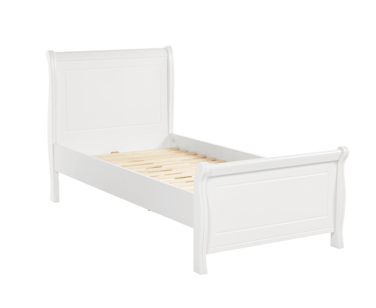 with wood sleigh made comfort solid a of frame series ultimate bed pin feel cherry